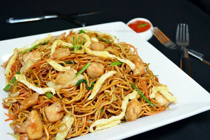 Delicious fry noodle for our valuable Guest
