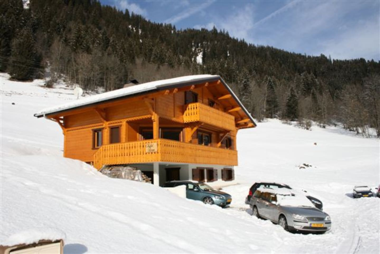 Chalet Rose in Chatel 16p to skilift Linga van Portes du Soleis