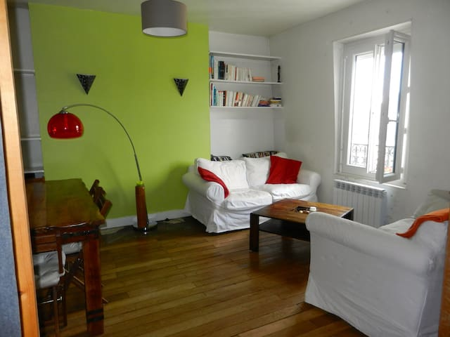 Charming one bedroom - Saint-Maurice - Apartamento