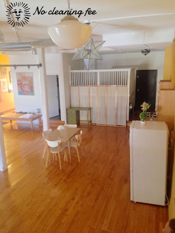 Entire apartment-Private 1,000 square feet