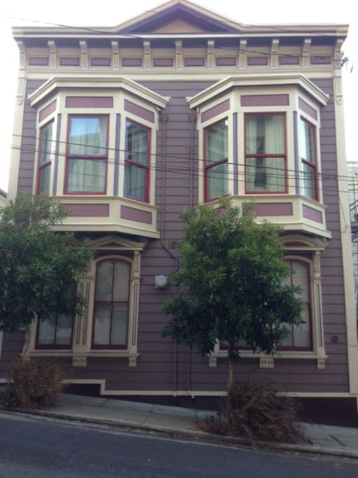 Unit is street level on VERY quiet one-way alley. 1902 Edwardian building.