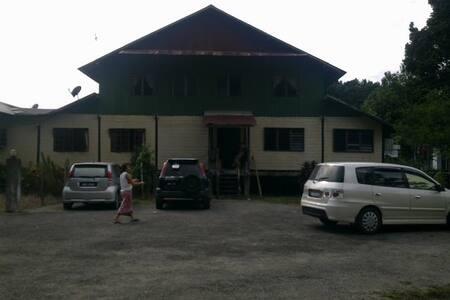 Longhouse in Betong, Sarawak.