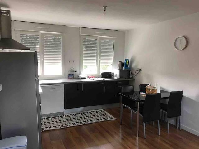 Appartement entier 80 m2