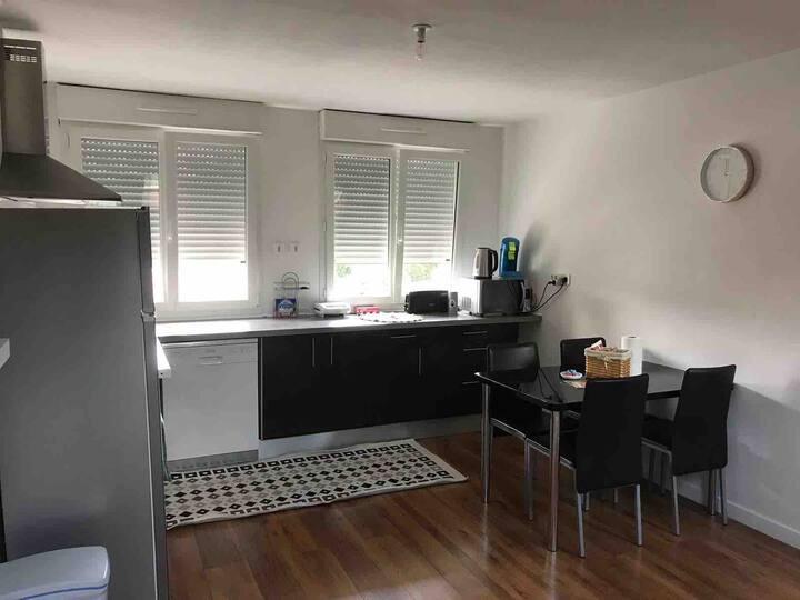 Appartement entier 80 m2 non partager
