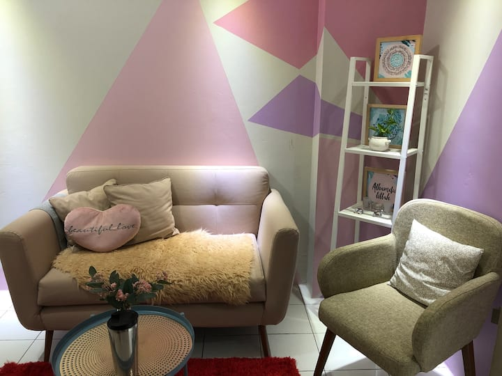 Cozy home to relax with one stop living concept