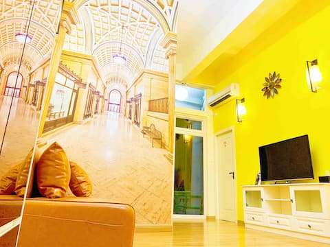 European Style Two Bedroom Apartment (max 6 pax)