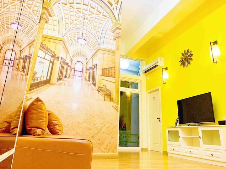 European Style Two Bedroom Apartment in Macau