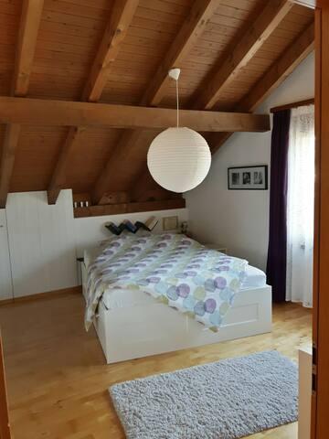 heimelige 2 Zimmer im Dachgechoss
