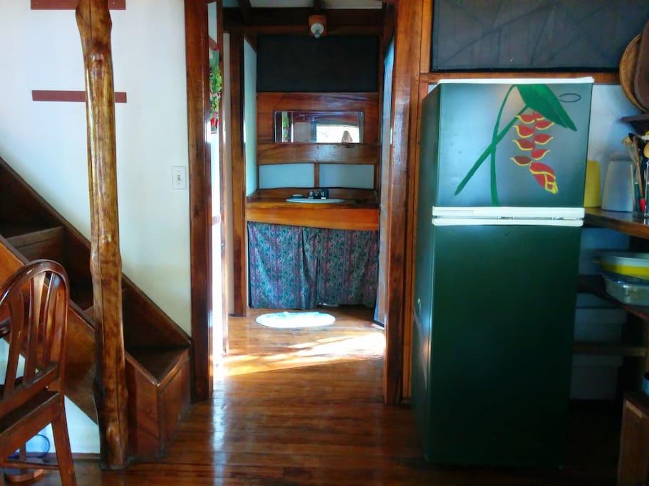 Kitchen and indoor sink