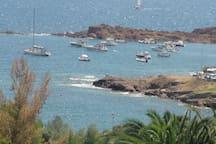 CAP ESTEREL - Appart superbe vue mer Cap Esterel