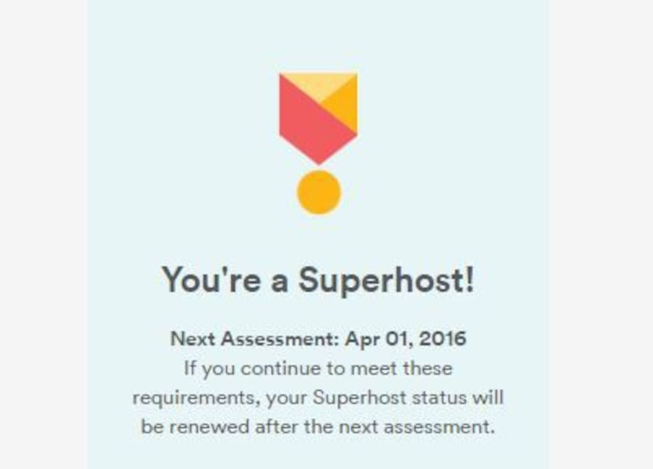 Superhost - 2016