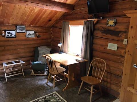 Fox 'n Fireweed: Miner's Cabin