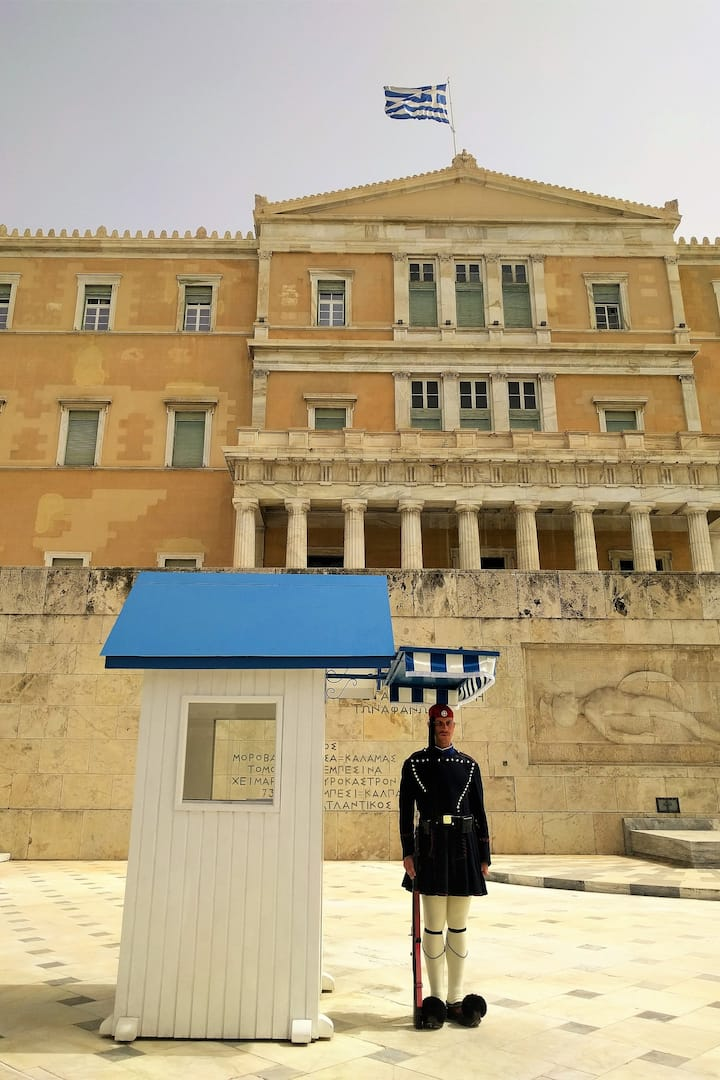 The most iconic figures of Athens