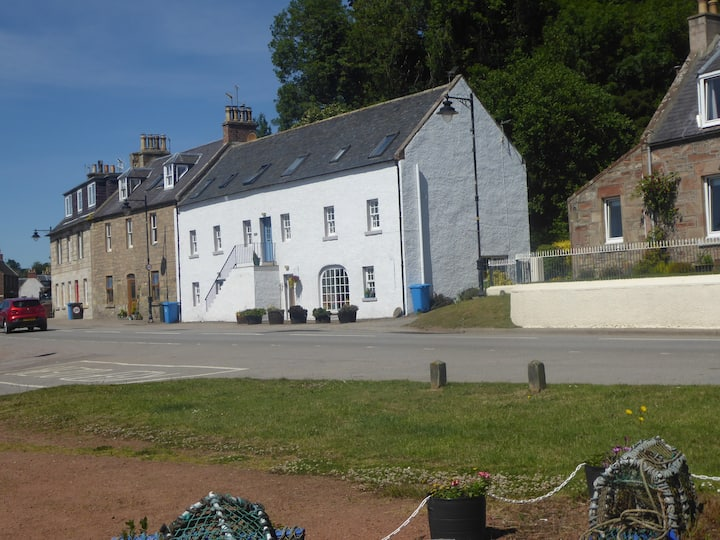 Harbourside home on the Moray Firth