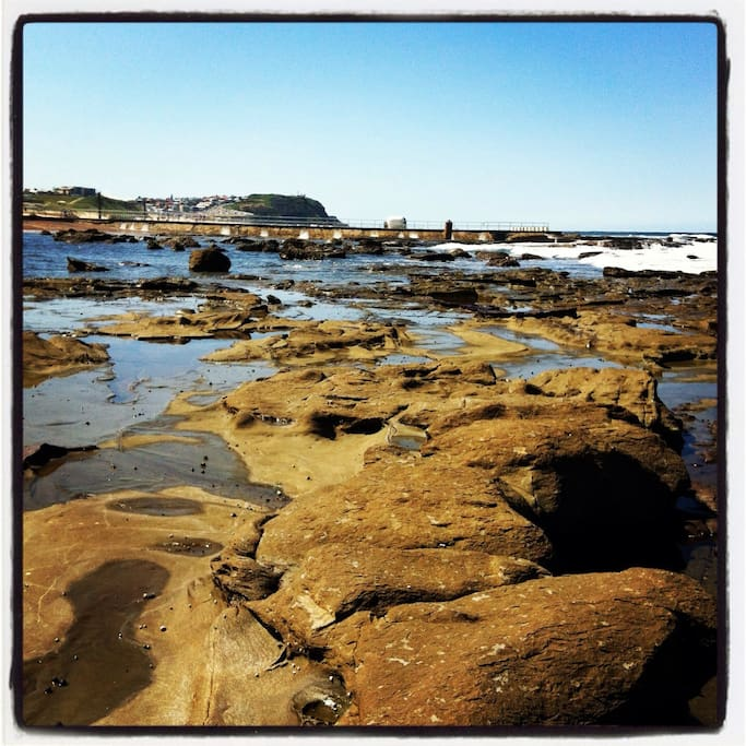 Take a walk past the Ocean Baths across the rocks to some of the most secluded and beautiful beaches in their world