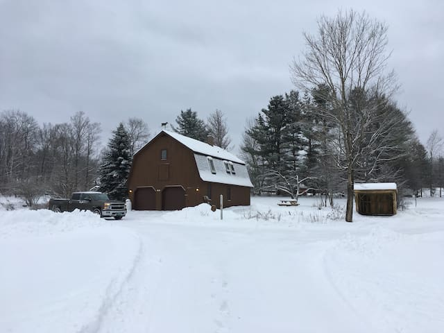 Cozy 2bd close to Killington, VAST trail access - Barnard