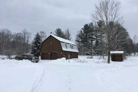 Cozy 2bd close to Killington, VAST trail access - Barnard - Ház
