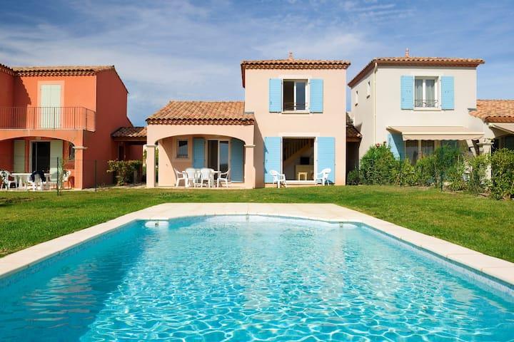 Piscine Privée !! Belle Villa proche du Canal, accès Hammam + Gym