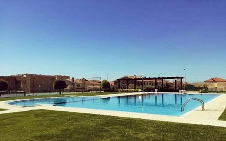 T1 labruge_ piscina e praia