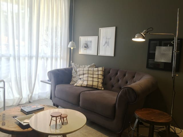 Apartamento design de 2 quartos - Itaipava
