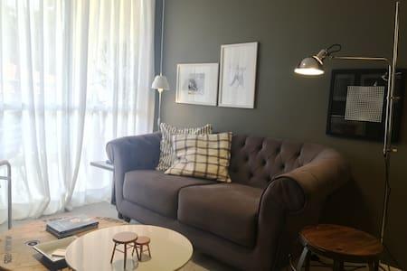 Charmoso e aconchegante apartamento 2 quartos - Itaipava