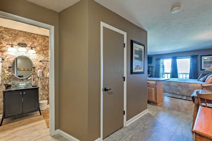 This studio features all of the comforts of home, like free WiFi!