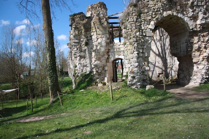 Amiens, Baie de Somme, World War I4-18 sites - Amiens - Flat