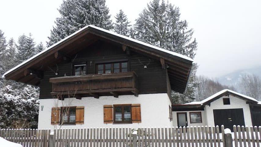Ferienwohnung Gletschergarten, Fischbach am Inn - Flintsbach am Inn - Appartement