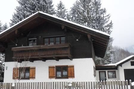 Ferienwohnung Gletschergarten, Fischbach am Inn - Flintsbach am Inn - 公寓