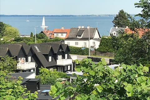 Apartment with seaview - easy access to Copenhagen