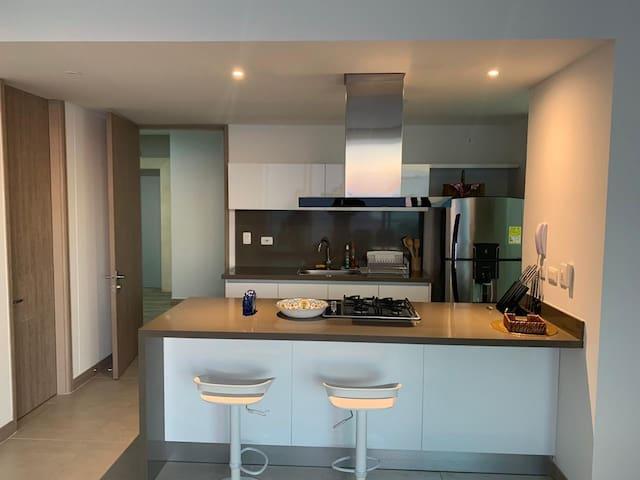 Luxury and New apartment in Playa dormida Beach.
