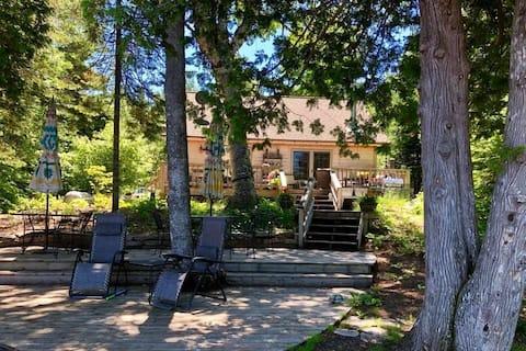 Die Gartenhütte am Lake Fanny Hooe~ Das ganze Jahr geöffnet ~