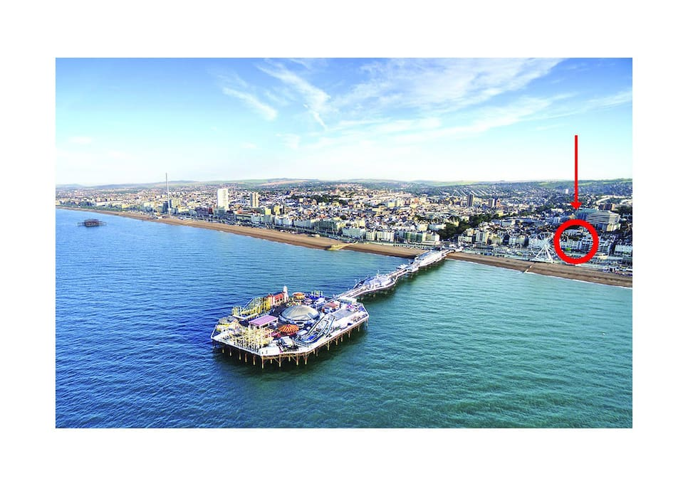 The beach and Brighton are on your doorstep!