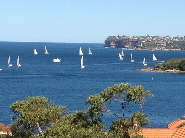 Breathtaking Manly Harbour views - Fairlight - Apartamento