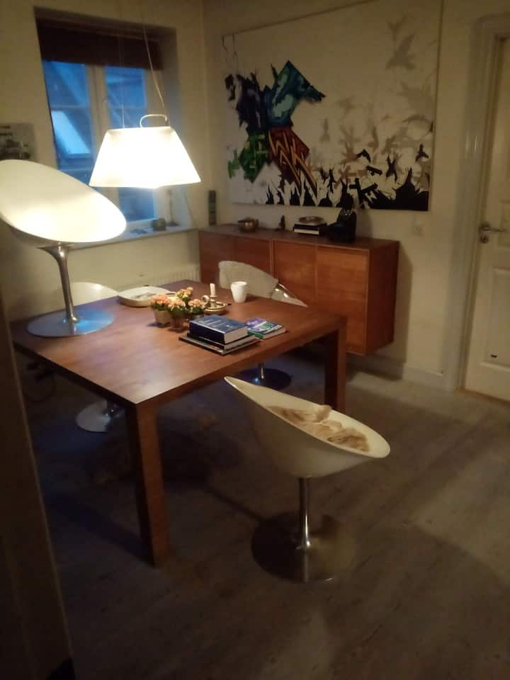 Big beautiful apartment in central Helsingør