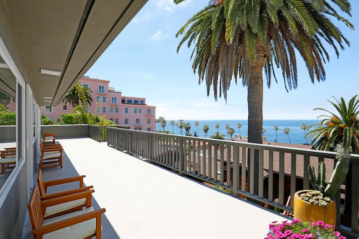Panoramic Ocean Views from Shared Patio
