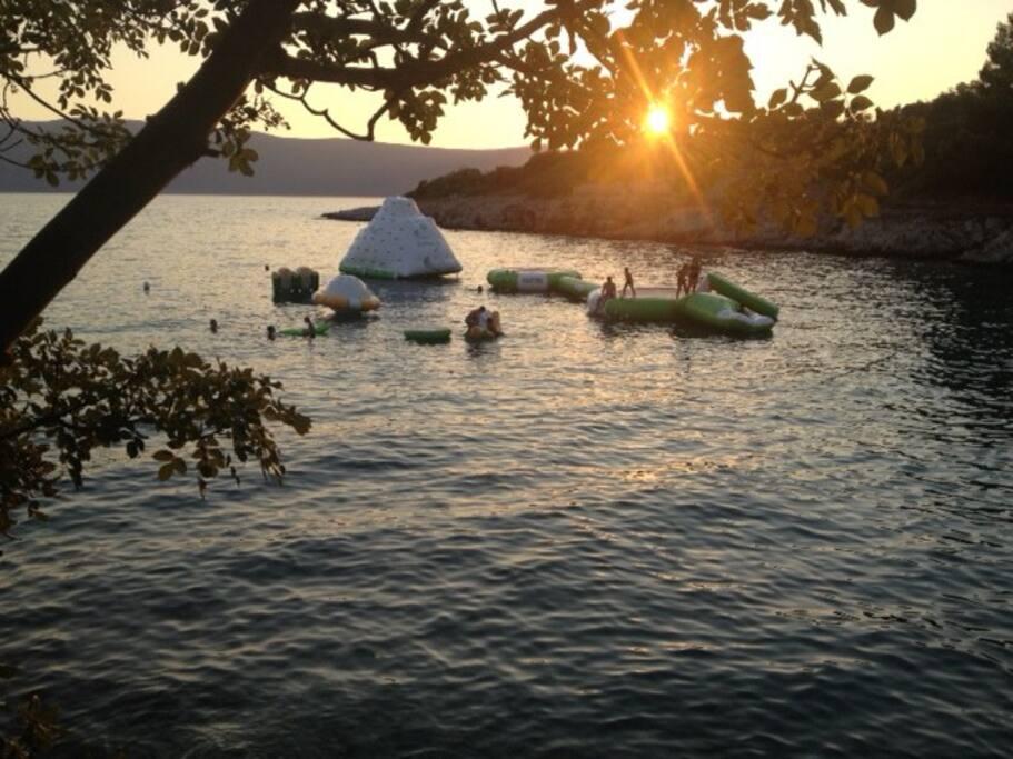 Aquapark island Krk - Pinezići