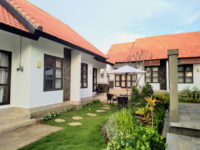Studio House with Garden View in Jimbaran - Unit#1
