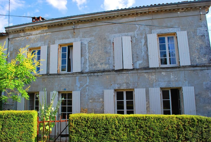 XVII Cottage for 10 Pers: 48Km from - Saint-Hilaire-de-Villefranche - Casa
