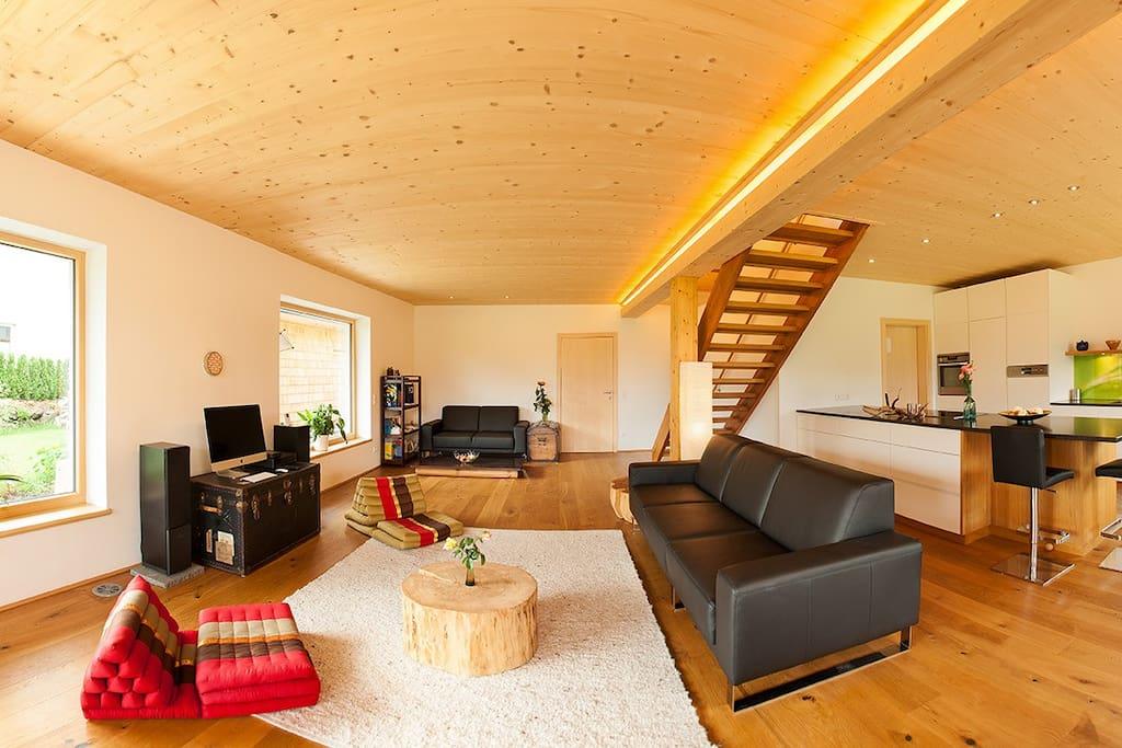 Wohnzimmer 62 m2