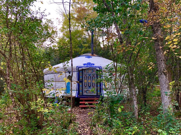 Wyldwood Sojourn: meditative yurt retreat