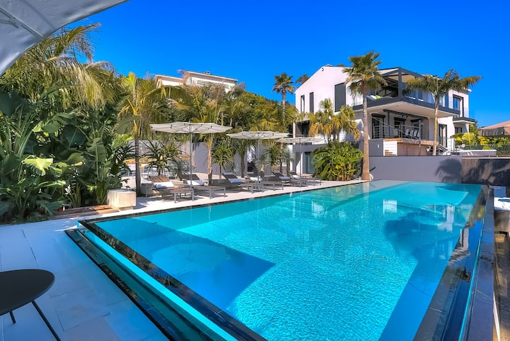 News VILLA Luxe high-tech GOLFE-CANNES  / Handicap