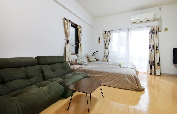 Heart of Umeda! 10mins to Osaka station  Free wifi - Kita-ku, Ōsaka-shi - Apartment