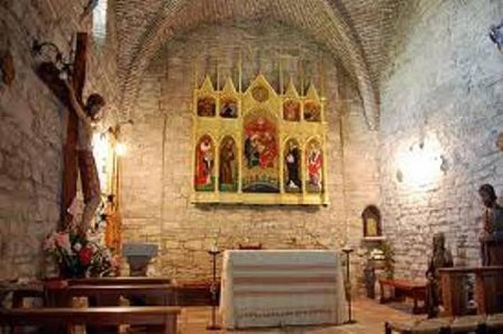 Gentila da Fabriano - interno monastero