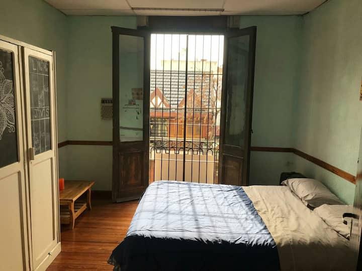 Habitación Cama Doble Barrio Boedo - Doble room