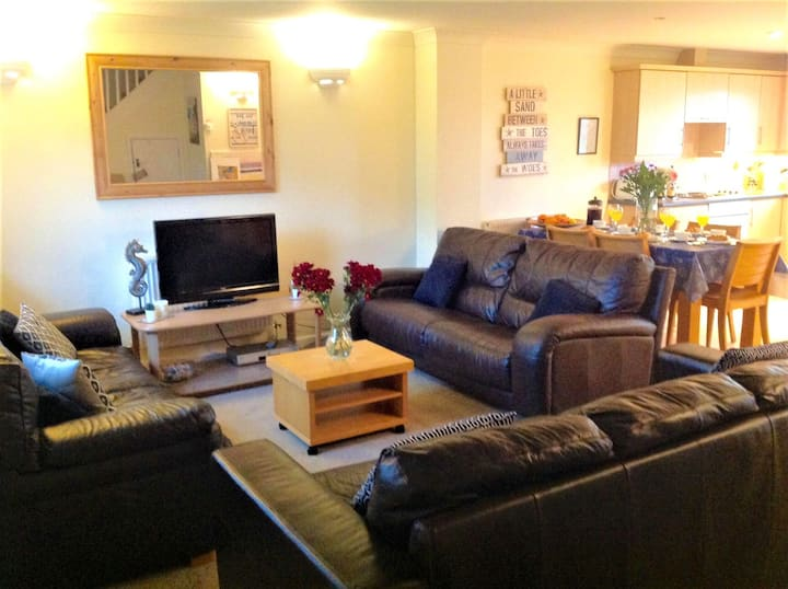 Spacious Four Bedroom Holiday Lodge near Newquay