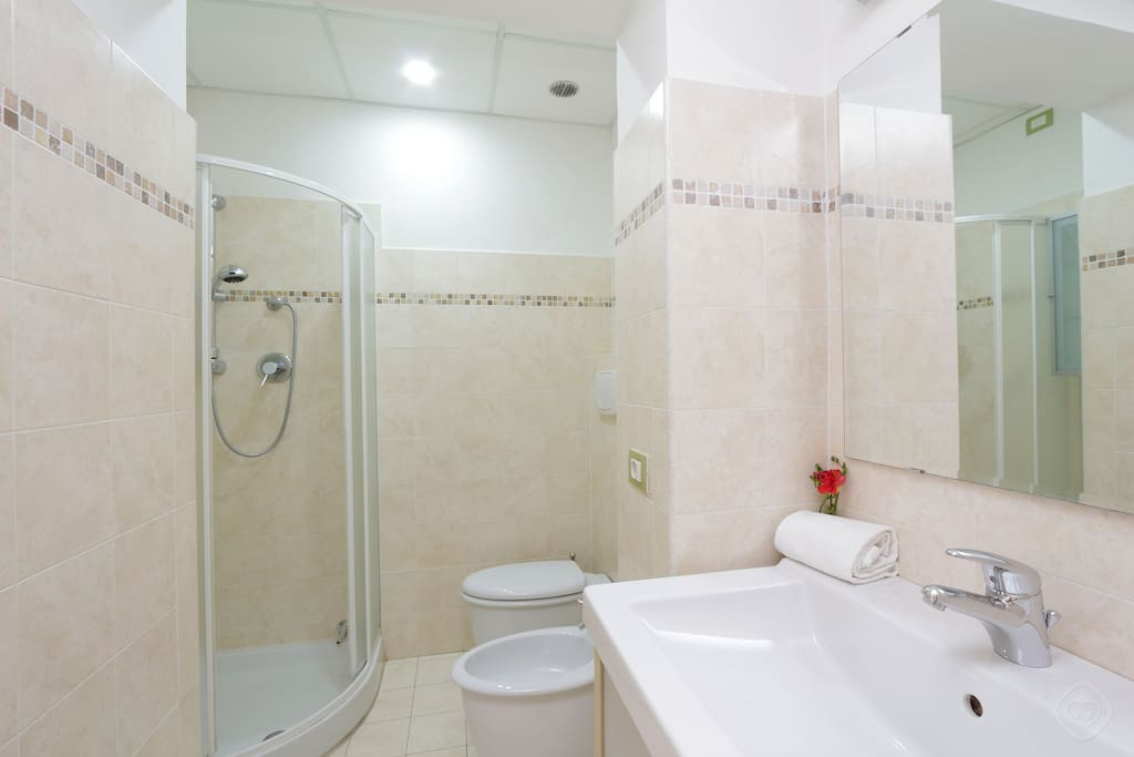 The three bathrooms have recently been renovated and are all fitted out with a toilet and a shower.