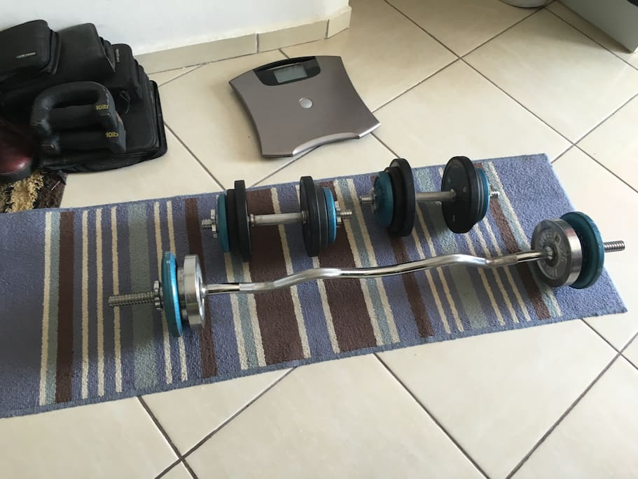 Weights for work out