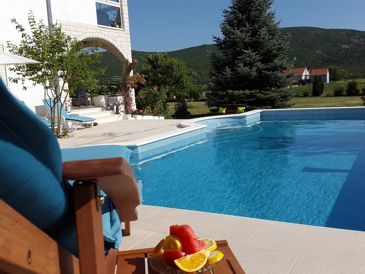Silva appartement met zwembad