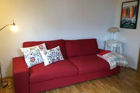 Gemütliche Wohnung mit schönem Ausblick + Seenähe - Kondominium